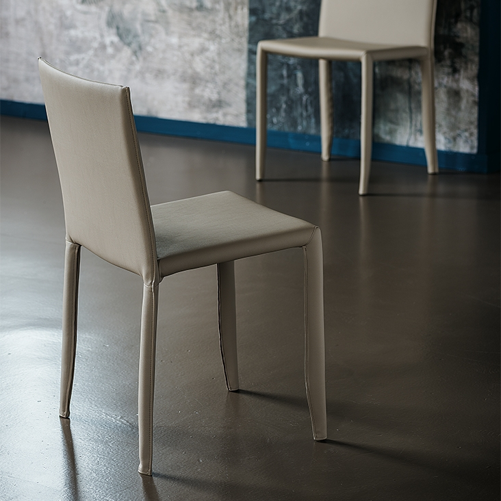 sedia amy di cattelan italia sedie. Black Bedroom Furniture Sets. Home Design Ideas