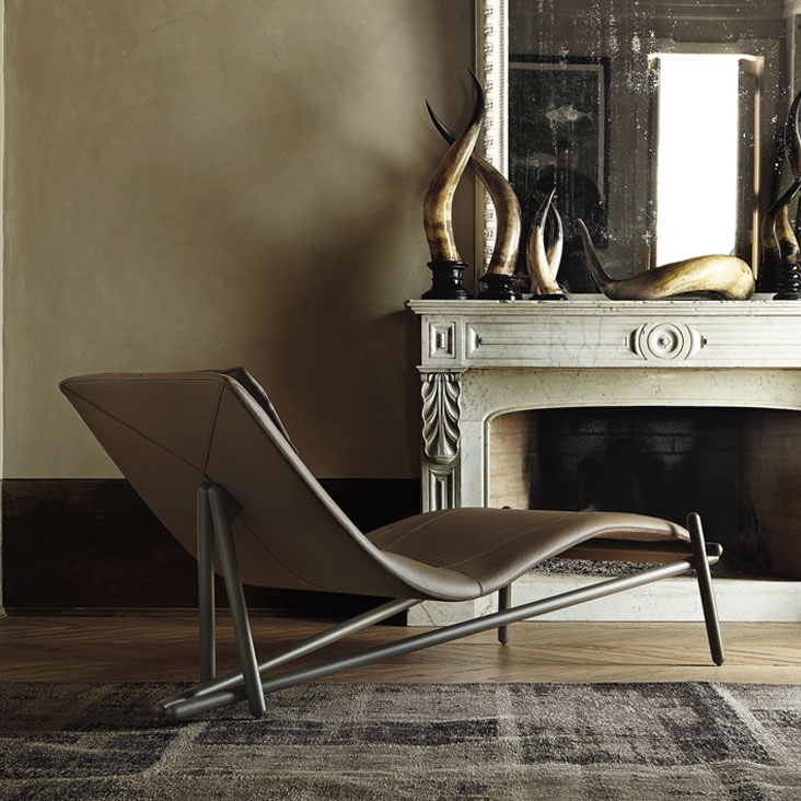 Poltrone Chaise Longue Design.Chaise Longue Donovan By Cattelan Italia Armchairs