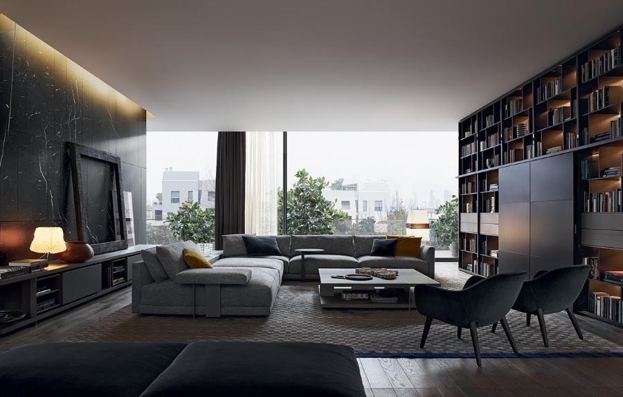 Sofa Bristol By Poliform Armchairs