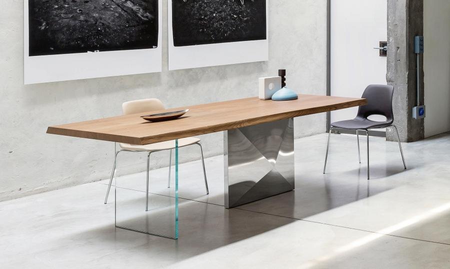 Tavolo cubric di riflessi tavoli - Tavolo riflessi living prezzo ...