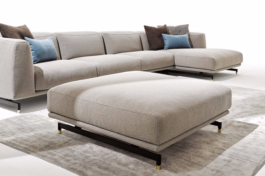 divano st germain di ditre italia imbottiti. Black Bedroom Furniture Sets. Home Design Ideas