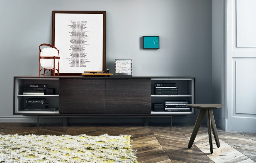 Madia Axia Di Poliform Sideboard And Container