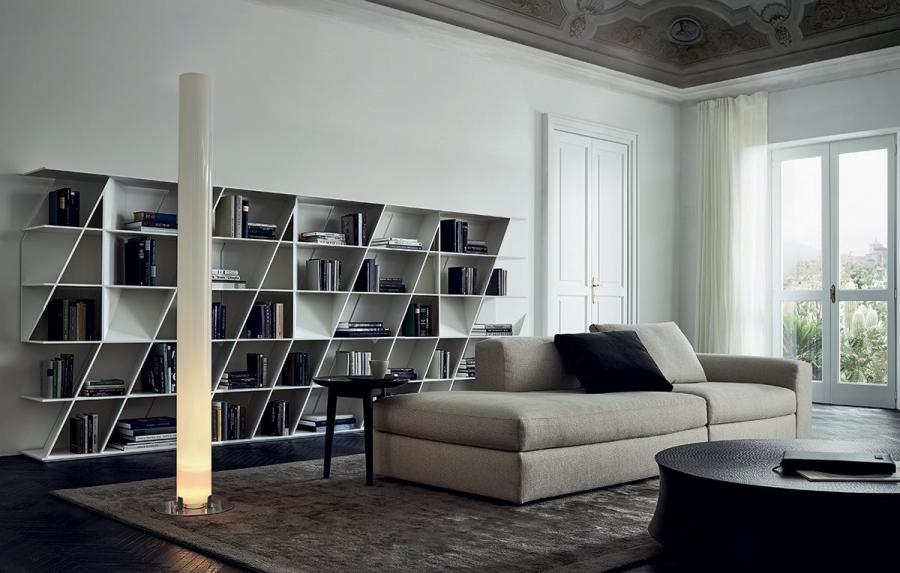 Web Bookshelf By Poliform Library