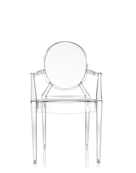 Chaise Louis Ghost Kartell - Chaises Outdoor