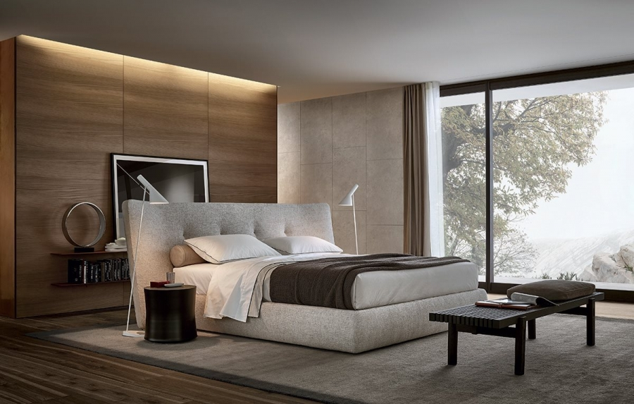 Rever bed by poliform beds for Bedroom ideas with sofa bed