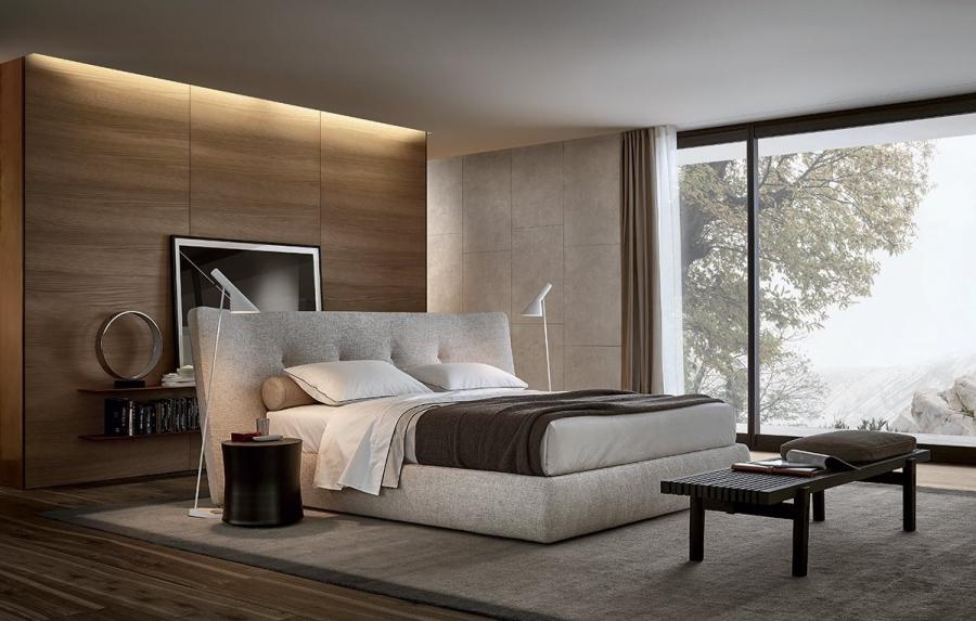 Rever Bed By Poliform Beds