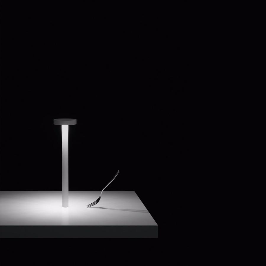 Lampada tetatet di davide groppi lampade da tavolo - Lampade da tavolo a batteria ricaricabile ...