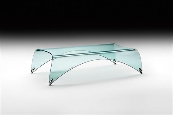 Tavoli In Cristallo Fiam Prezzi.Tavolino Genio Di Fiam Tavolini