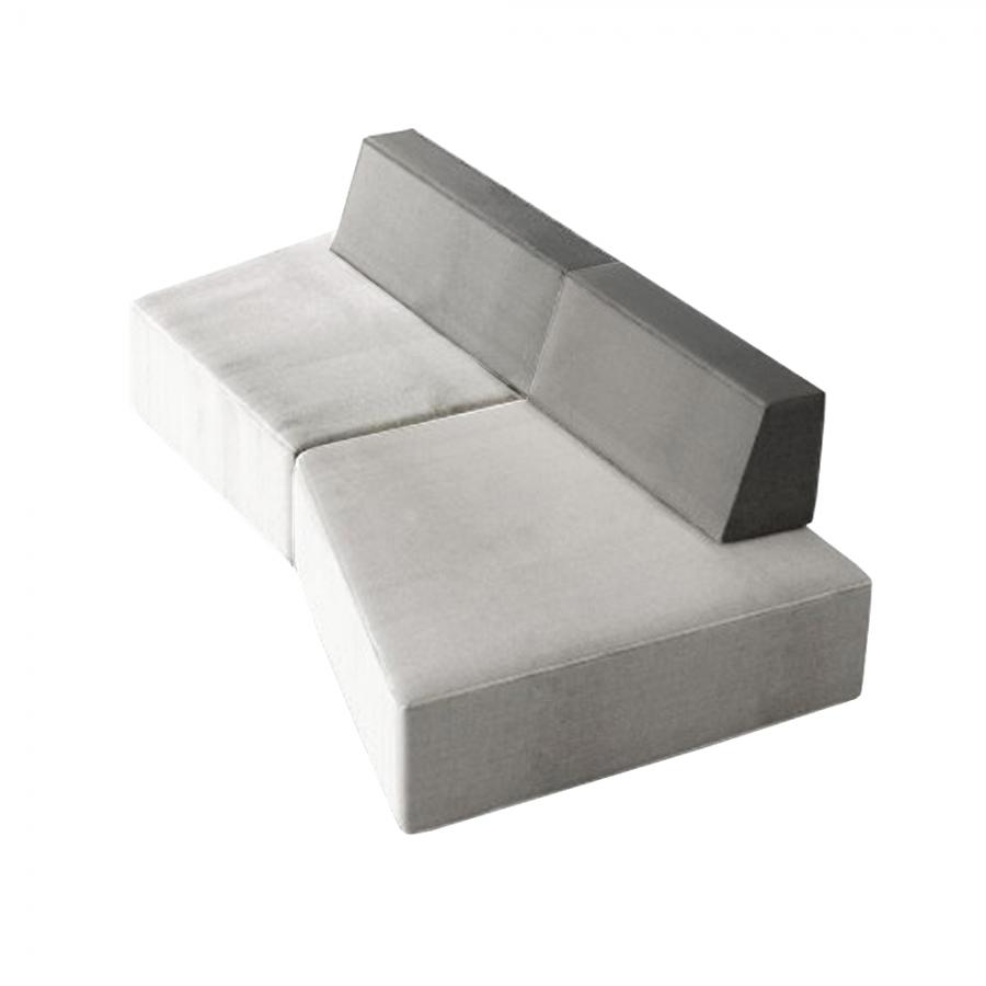 Composizione divano Slide di LAGO - Imbottiti