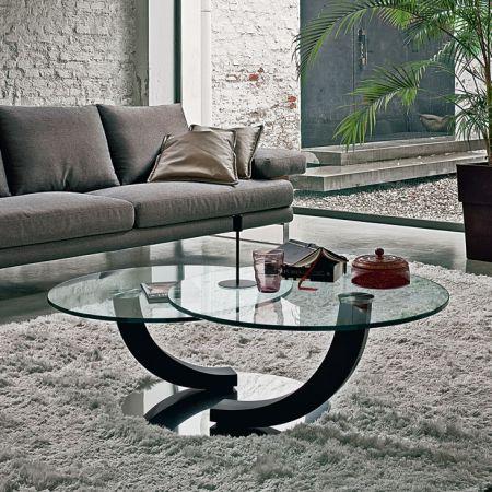 Cobra Inox side table by CATTELAN ITALIA