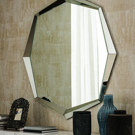 Emerald mirror by CATTELAN ITALIA