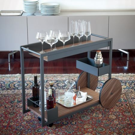 Carrello BAR Brandy di CATTELAN ITALIA