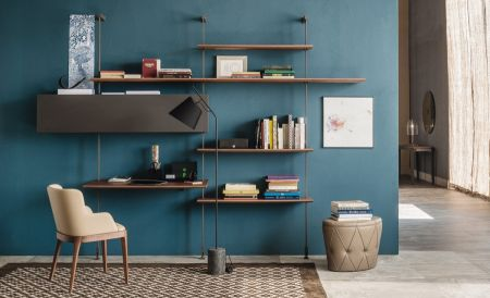 Airport bookcase by CATTELAN ITALIA
