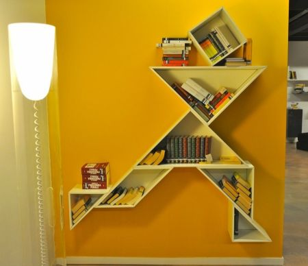 Bookcases Tangram by LAGO