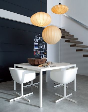 Trevi table by POLIFORM