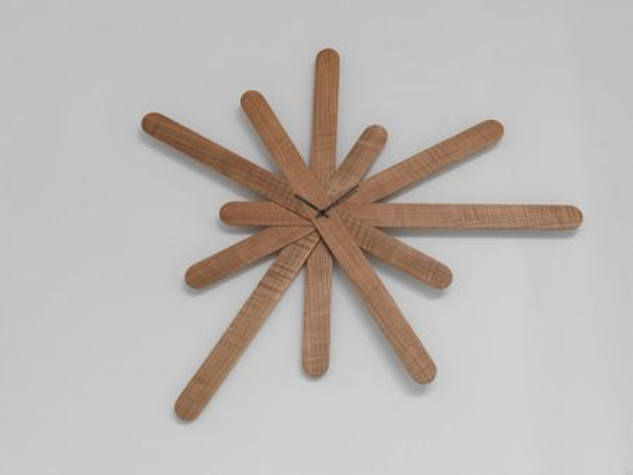 Orologio Woodclock di HORM