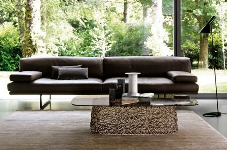 Macramè coffee table by FIAM