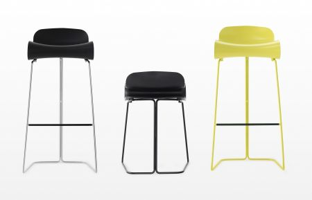 Stool BCN by KRISTALIA