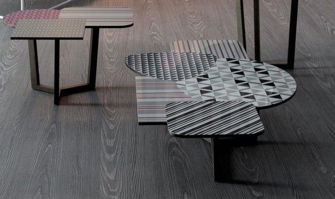 Tavolino Doppler di BONALDO