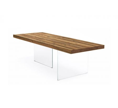 Air Wildwood Table Natural - Closed Heads 220x100 cm by LAGO
