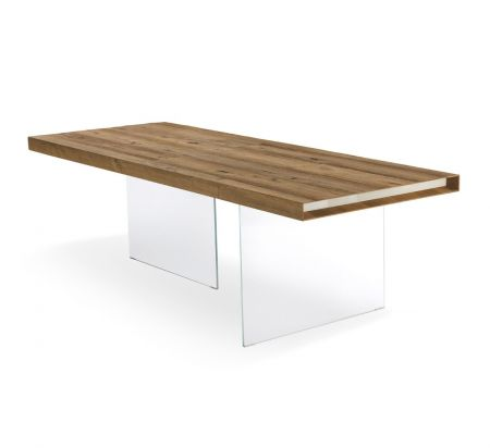 Table Wildwood Natural Air - Têtes inclinables 190x85 LAGO