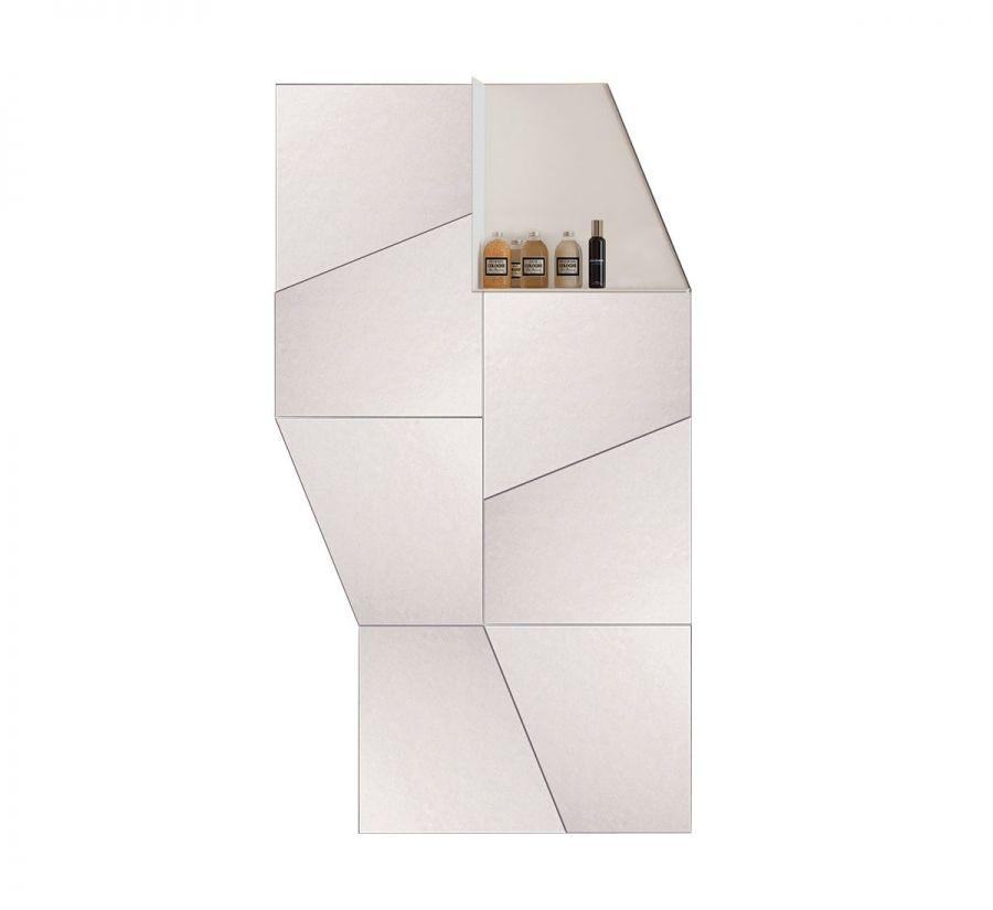 Composizione specchio Slide con mensola di Lago