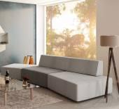 Composizione divano Slide di LAGO