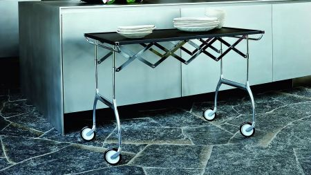 Baptist trolley of kartell