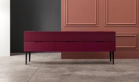 Zero.16 sideboard with six drawers by Devina Nais