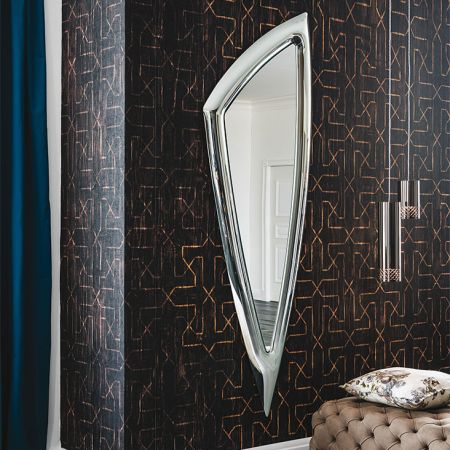 Camelot mirror by CATTELAN ITALIA