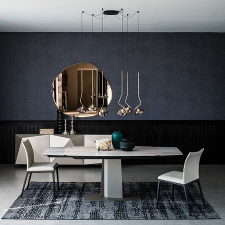 Table Duffy Keramik Drive by CATTELAN ITALIA