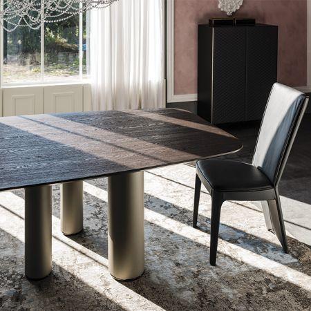 Tavolo Roll Wood di CATTELAN ITALIA