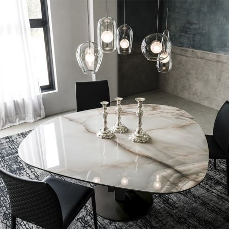 Table Skyline Keramik Round CATTELAN ITALIA
