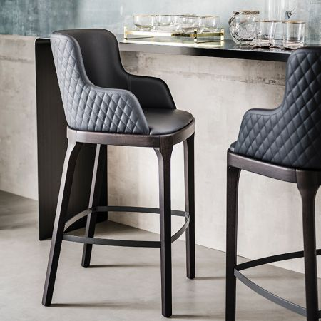 Stool Magda Couture by CATTELAN ITALIA