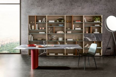 Table Bold XGlass by LAGO