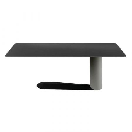 Bold Table - Lago - Polished glass top