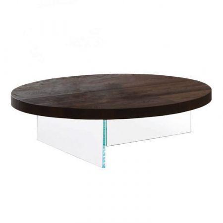Tavolino Air Haywood/Agewood - Lago - Piano Rotondo