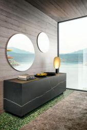 Madia Plenum XGlass - Lago - Composizione 0833