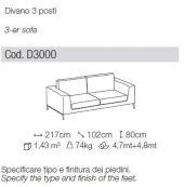 Divano Artis - Ditre Italia