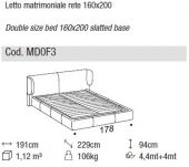Claire bed - Ditre Italia