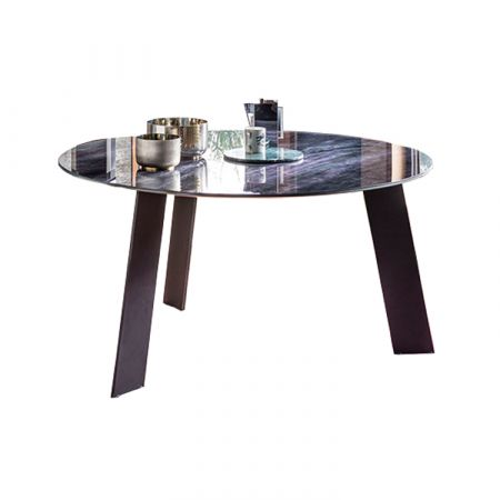 Tavolo Manhattan Rotondo My Glass - Devina Nais