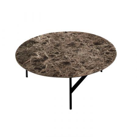 Round Tetris Coffee Table - Devina Nais