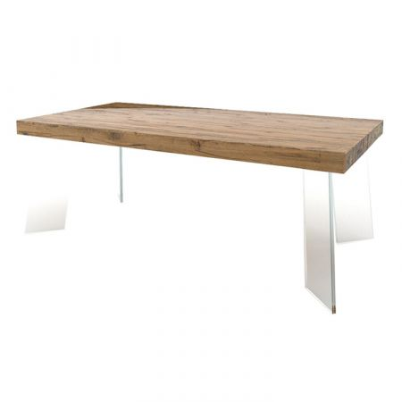 Wood Coffee Table - Devina Nais