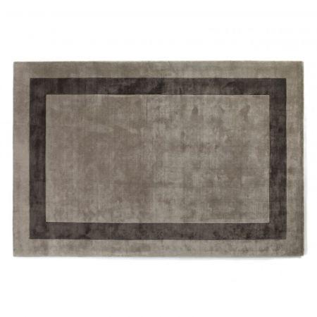 Tappeto Simla Bordered Starlight & Graphite - Jacaranda Carpets