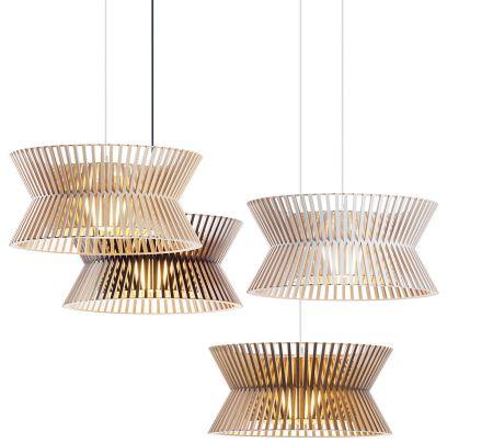 Lampada Kontro 6000 di Secto Design